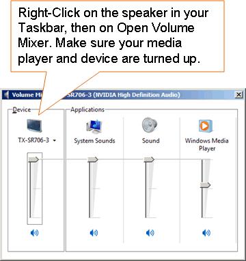 PC HTML5 Surround Sound Troubleshooting